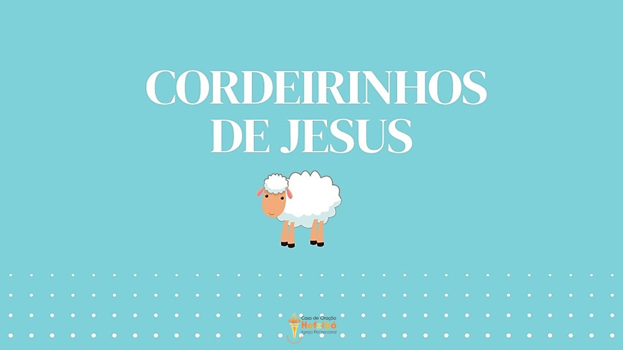Cordeirinhos_Jesus