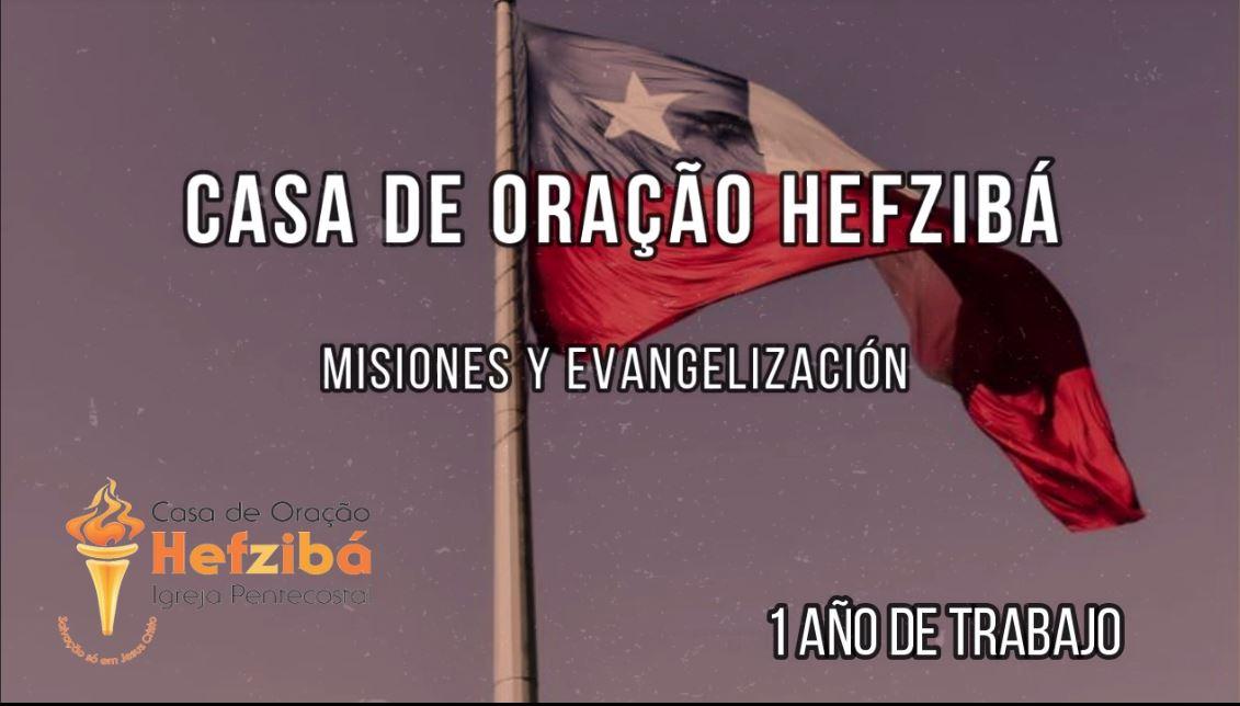 Comemoração 1 ano de Trabalho no Chile